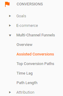google-analytics-assisted-conversions
