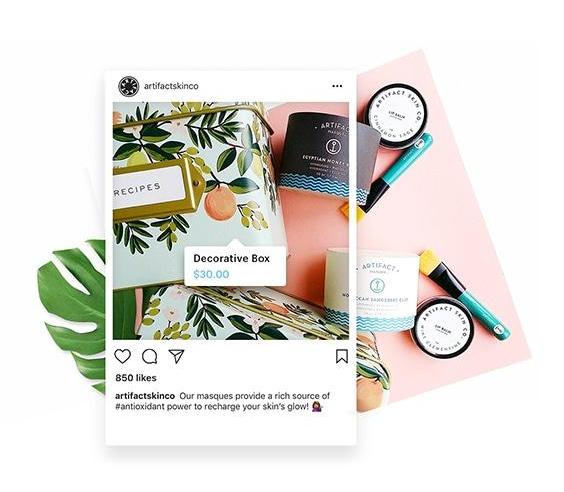 instagram ecommerce capabilities example