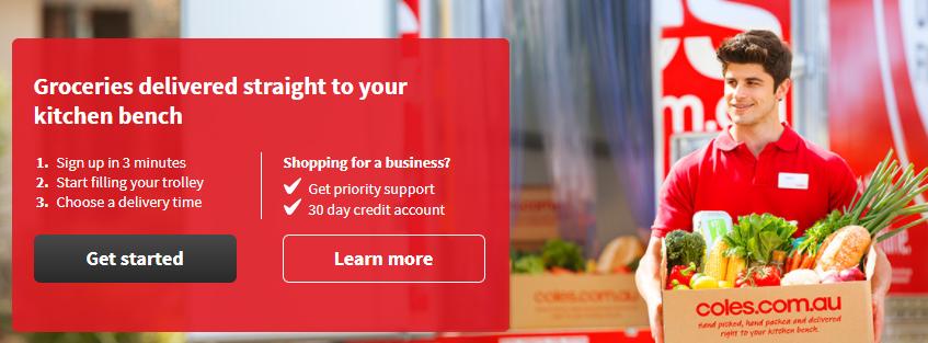 coles online shopping australia