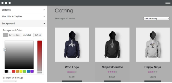 woocommerce storefront software