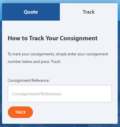 How to track your consignment