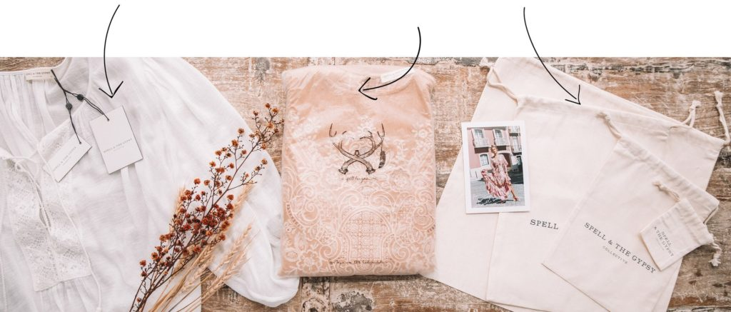 Spell's cotton eco bags