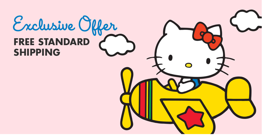 Hello Kitty free shipping offer