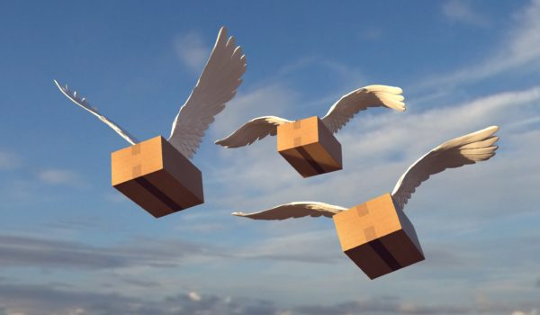 packages with wings