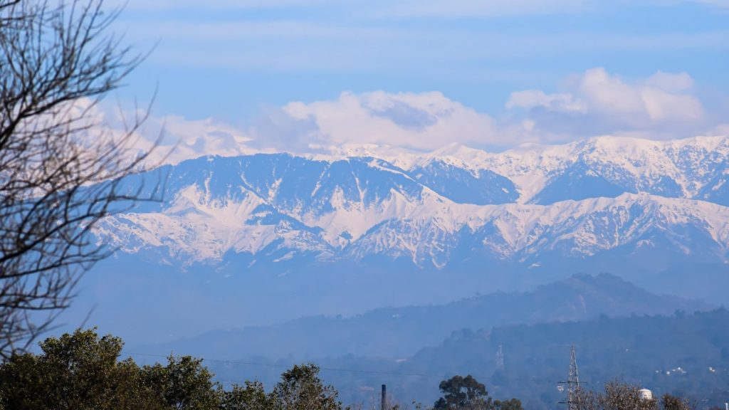 Himalayas visible for the first time in decades