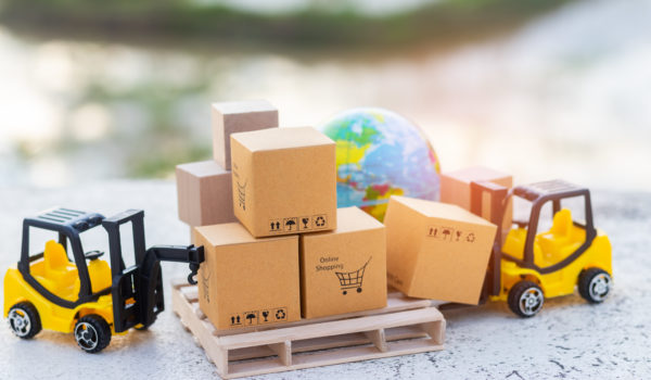 forklift shipping large items