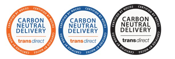 transdirect carbon neutral certification badges