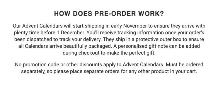 "The pre-order email also addressed a FAQ -- ""How does pre-order work?"" -- clearly and concisely, to increase clicks and orders."