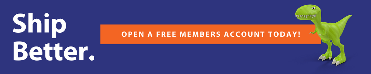 Ship Better Open a Free Members Account