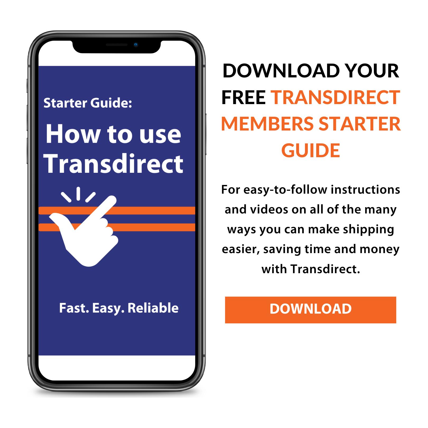 Transdirect starter guide